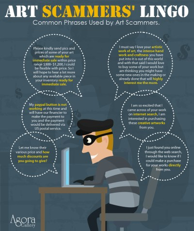 How To Recognize An Art Scam - Agora Advice Blog