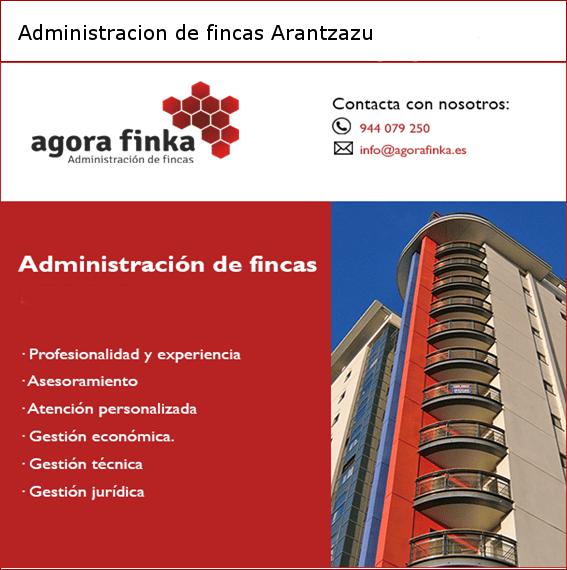 Administracion de fincas Arantzazu