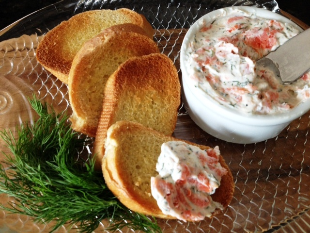 Smoked Salmon Spread #SundaySupper