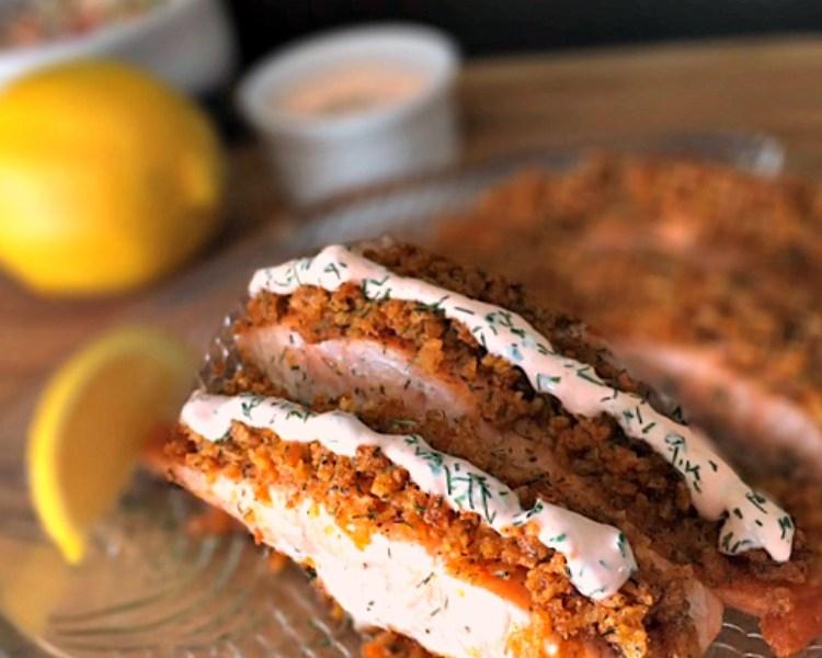 crispy salmon recipe
