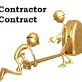 contractor contract