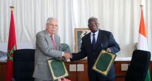 Tariq KABBAGE reçoit le Maire de Bouaké