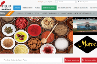 Le Maroc lance son annuaire des exportateurs: www.foodfrommorocco.ma
