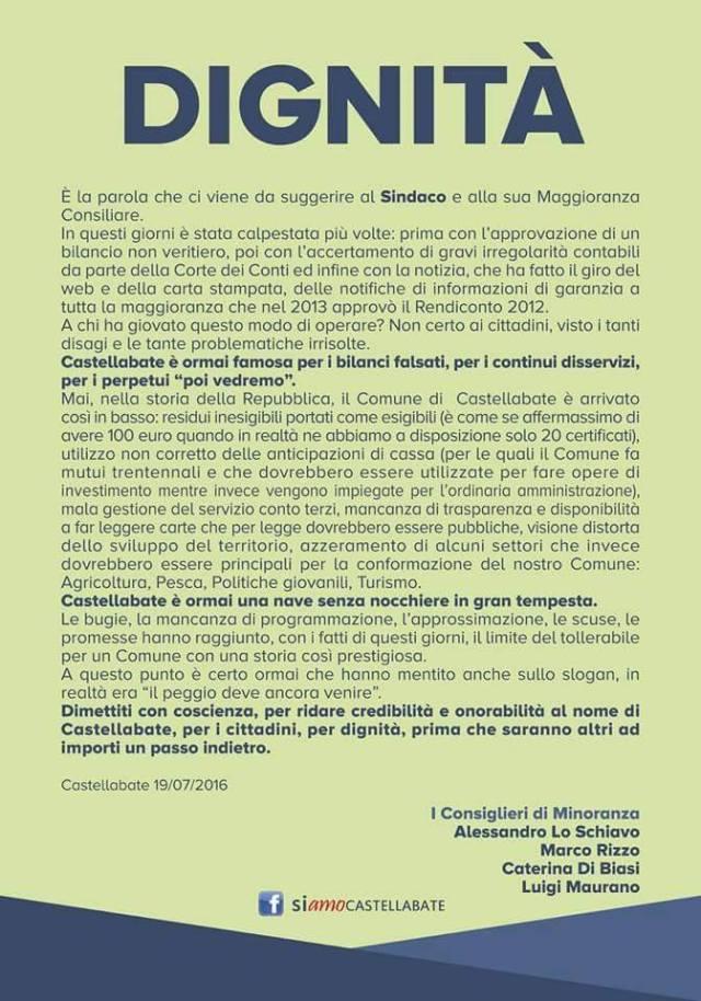 CASTELLBATE MANIFESTO
