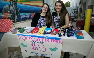 Socksational – a Junior Achievement Company at #GreatGive16