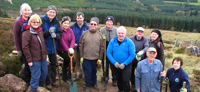 Mountain Meitheal Volunteers