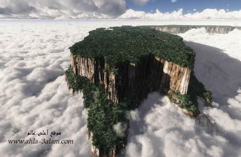 جبال الطاولة في فنزويلا