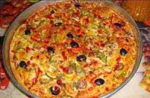 البيتزا بالسجق