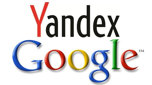 """""""غوغل"""" و""""ياندكس"""""""