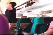 آخر فيديو للطائرة الماليزية المنكوبة التي تم إسقاطها فوق الأراضي الأوكرانية