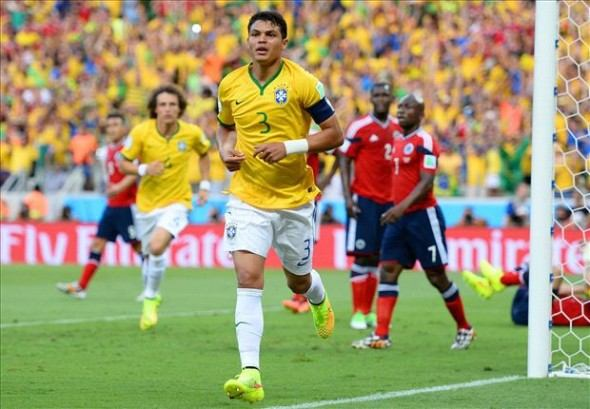 اهداف مباراة البرازيل وكولومبيا 2-1