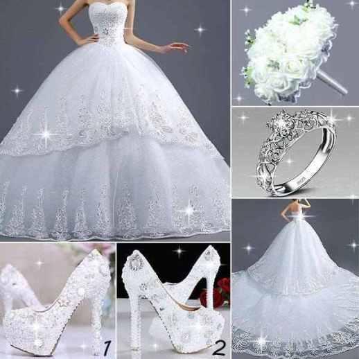 بالصور أجمل فساتين زفاف 2015