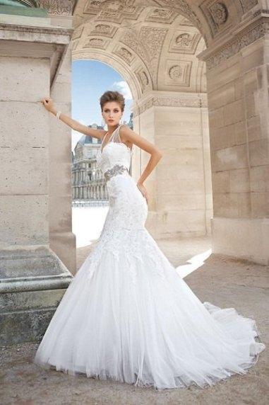 بالصور فساتين زفاف 2015