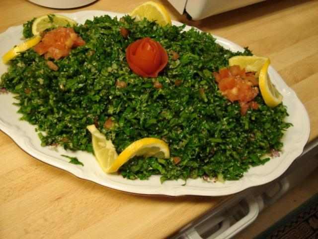 طريقة تحضير التبولة السورية مطبخ أحلى عالم
