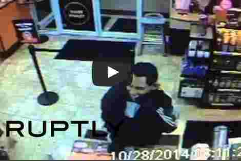 بالفيديو اوباما يسطو على محل تجاري في مدينة أمريكية