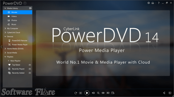 PowerDVD 14.0.4412.58 تحميل أحدث اصدار لبرنامج مشغل الفيديو
