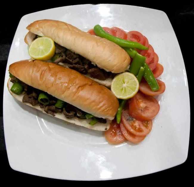 ساندويش الكبدة