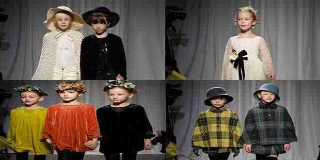 أزياء خريف 2015 للأطفال من بونبوينت