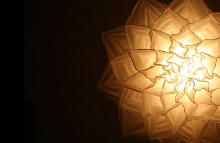 مصابيح الزهور