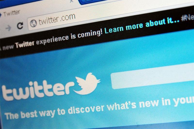 تويتر تضع الإعلانات في الصفحات الشخصية للمستخدمين