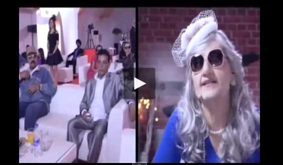 شاهد رامز واكل الجو مع سعيد الهوا و احمد التباع الحلقة 18 رامز بثياب امرأة