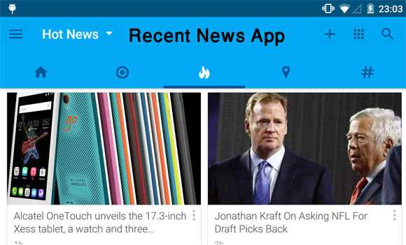تحميل تطبيق Recent News قارئ الاخبار الذكي جدا rss
