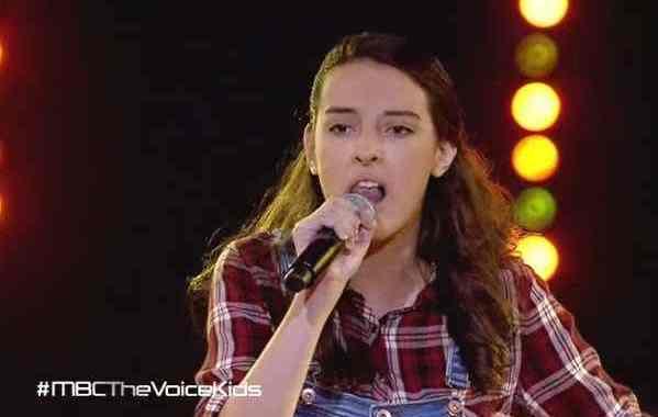 ليلى أبو حمدان - roar - مرحلة المواجهة الأخيرة ذا فويس كيدز