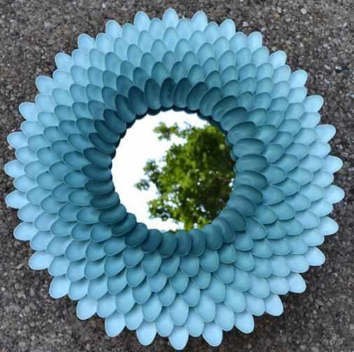 كيفية تدوير ملاعق البلاستيك