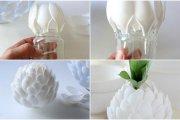 اعادة تدوير ملاعق البلاستيك لصنع ديكور رائع للمنزل