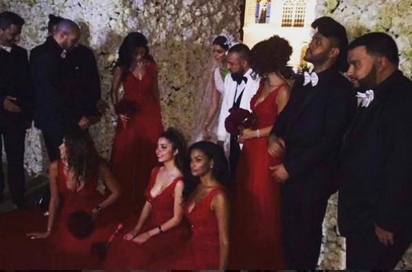زفاف ملكة جمال امريكا ريما فقيه