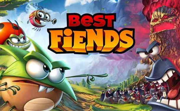 لعبة ذكاء وألغاز للاندرويد تطبيق Best Fiends أفضل لعبة مغامرات للموبايل