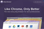 تحميل المتصفح الشبح GhostBrowser وميزاته الرائعة !