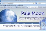 متصفح الانترنت Pale Moon بال مون متصفح انترنت سريع وآمن سهل الاستخدام عالي الجودة