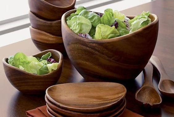 أدوات مطبخ خشبية غاية في الإتقان و الجمال شاهدوها بالفيديو من احلى عالم