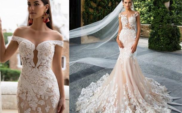 فساتين زفاف 2017 من Milla Nova الفخامة و الأنوثة يجتمعان في فستان الزفاف