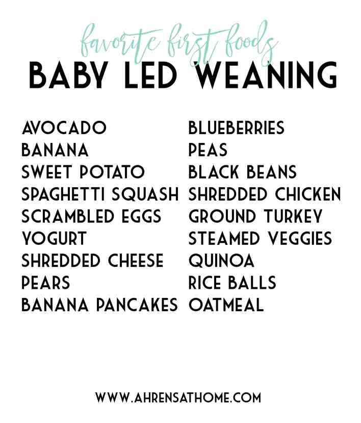 baby led weaning|Ahrens at Home