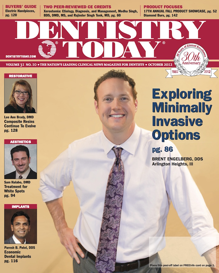 October 2012<br />Dentistrytoday.com Cover