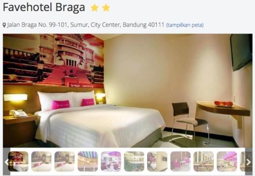 Booking Kamar Favehotel Braga Bandung