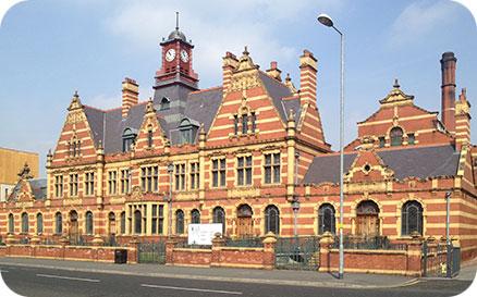 Victoria Baths facade