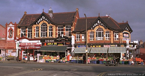 Grocery shops Cheetham Hill Manchester