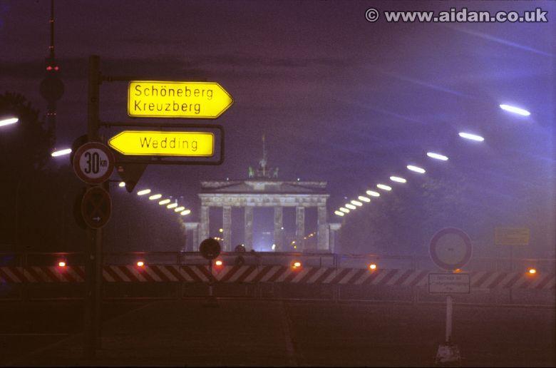 Brandenburg Gate 1982