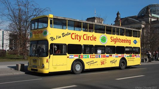City Circle tour bus