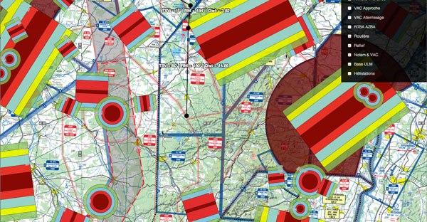 WebCartes espace aérien Drone