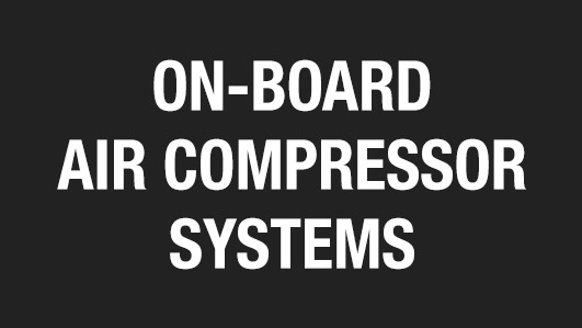 On Board Air Compressor Systems