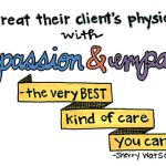 They treat their clients physical needs with compassion and empathy -- the very best kind of care you can get!