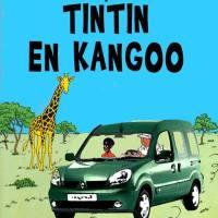 Tintin en Kangoo