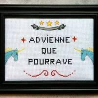 Advienne que Pourrave