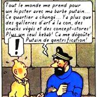 Détournement Tintin - Haddock