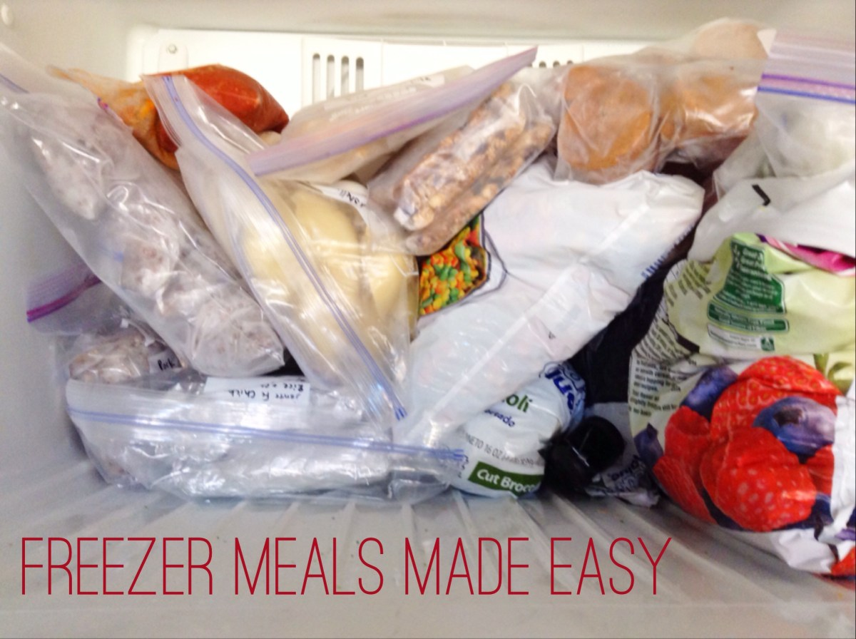 Freezer Meals Made Easy - Part 2