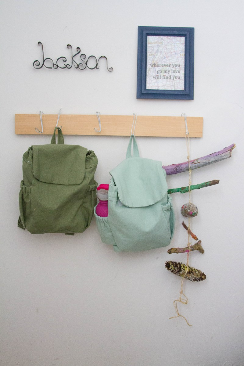 DIY Nature Backpacks: 18 months - 4+ years old